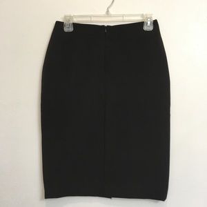 NWT Cache Zipper Black Pencil Skirt 4